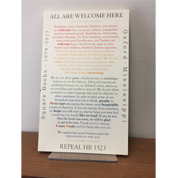 Image of All Are Welcome Here Print