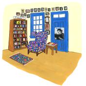 Image of Jane Mount Square Books Print
