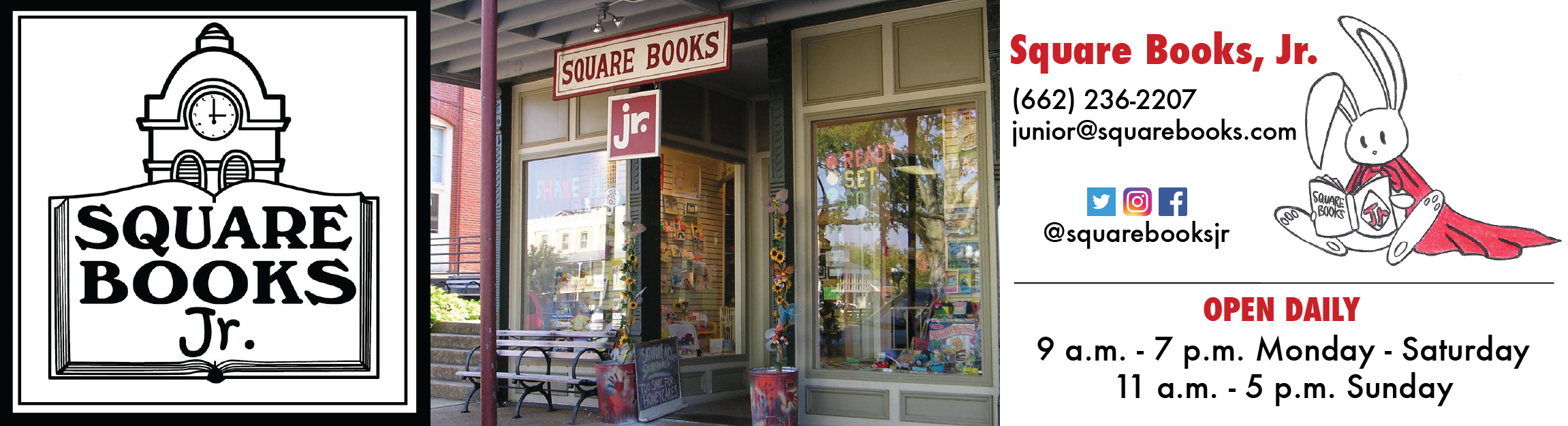 Square Books, Jr.