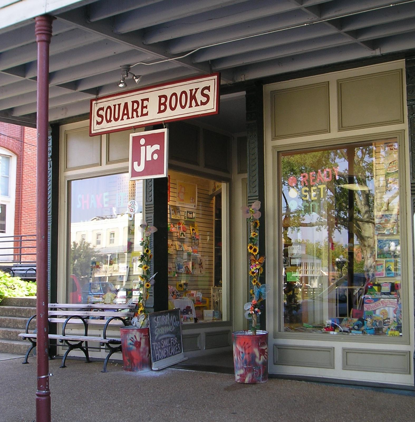 Square Books, Jr. in 2006
