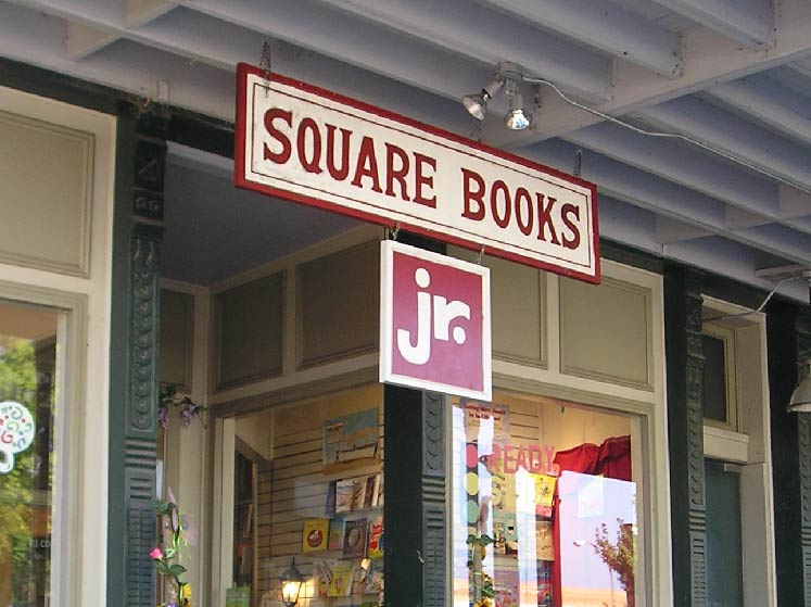 Square Books, Jr. front