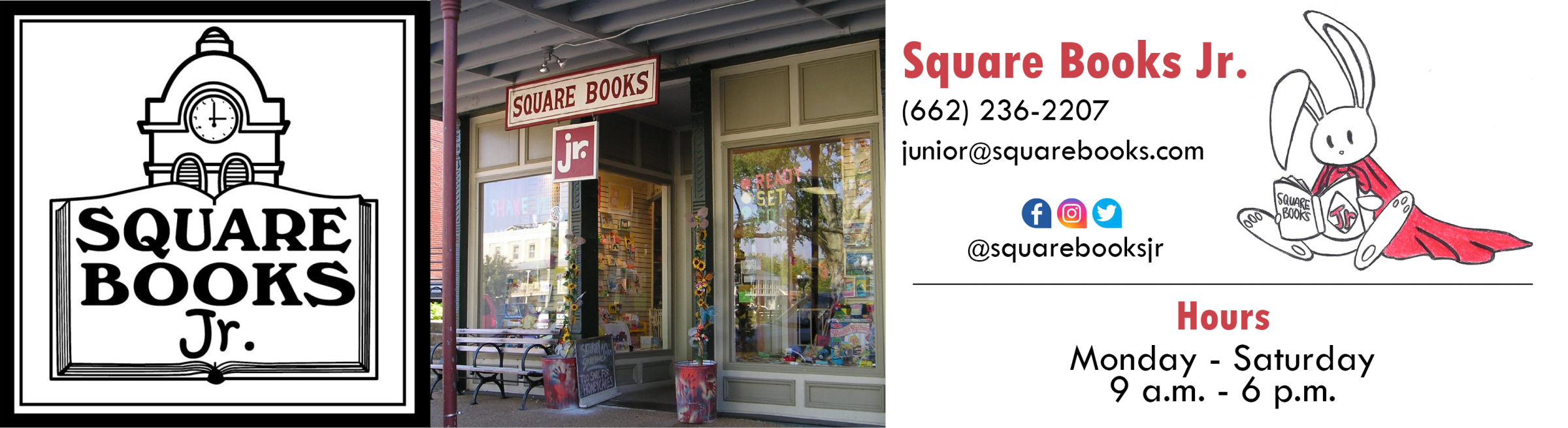 Square Books Jr.