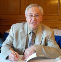 author Robert Hamblin signing