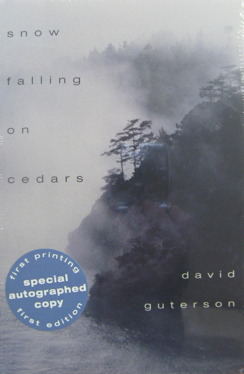 a review and analysis of the book snow falling on cedars by david guterson Snow falling on cedars by david guterson 345 pp  (he is the author of a book of short stories and a  a version of this review appears in print.