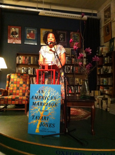 Tayari Jones reading at Square Books
